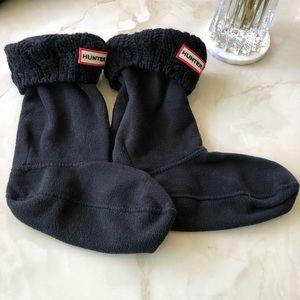 Hunter boot socks tall knit